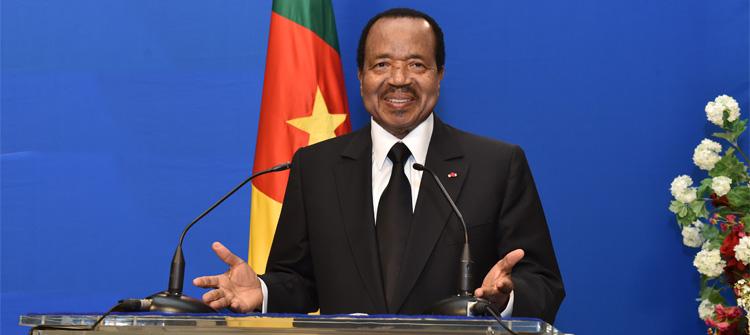 Cameroun | Paul Biya est de retour au Cameroun – Première déclaration (Vidéo)