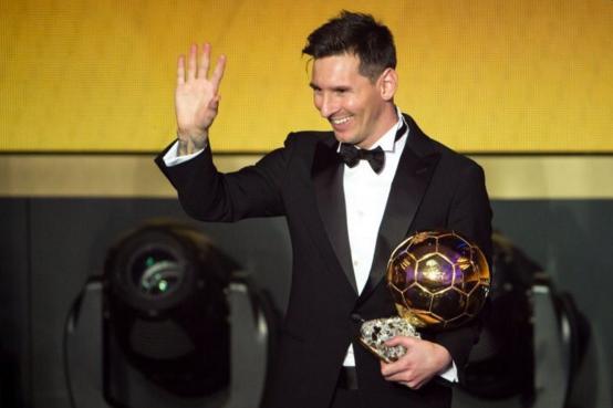 Ballon d'or 2015: Lionel Messi vainqueur pour la 5ème fois