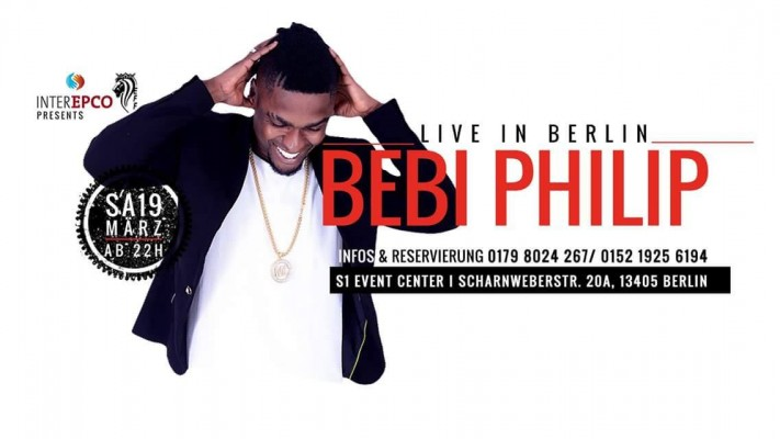 Exclusivité | Bebi phillip Live à Berlin