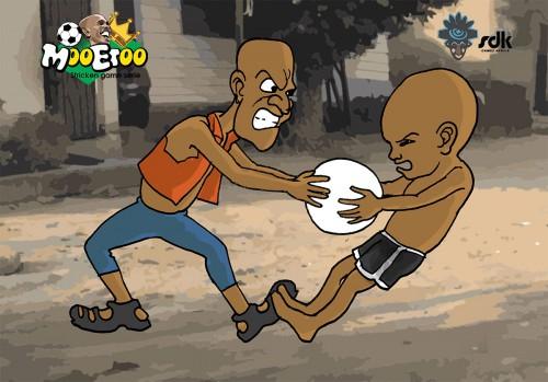 TIC   Une collecte des fonds pour le jeu dédié à Samuel Eto'o