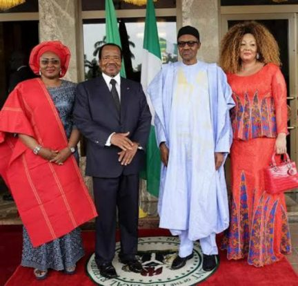 Diplomatie   L'arrivée en images de Paul et Chantal Biya a Abuja