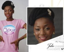 AFRO-FASHION | JULIE CHEUGUEU – Miss Cameroun 2016