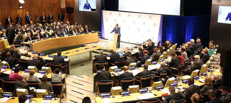 Déclaration du Président Paul BIYA au sommet des Dirigeants sur les Réfugiés