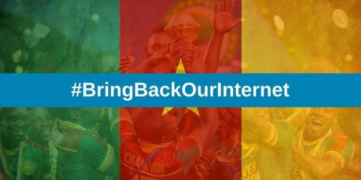 Cameroun | Just Bring back our internet !!!