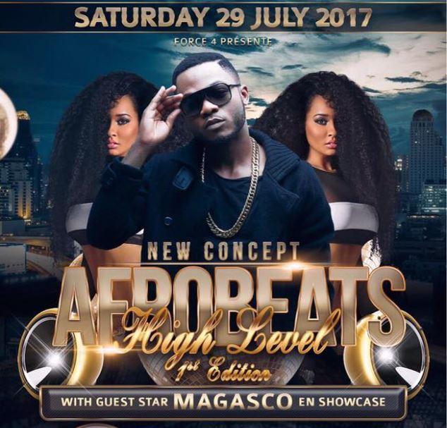 Exclusivité | Magasco en copncert à Berlin le 29 juillet 2017